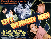 1943 Movies Photos - City Without Men, Linda Darnell, 1943 by Everett