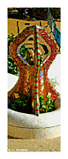 Parc Guell Prints - Citymarks Barcelona Print by Roberto Alamino