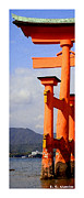Roberto Photo Framed Prints - Citymarks Miyajima Framed Print by Roberto Alamino