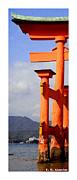 Roberto Alamino Acrylic Prints - Citymarks Miyajima by Roberto Alamino