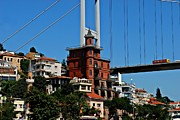 Sultan Prints - Cityscape 6 - Fatih Sultan Mehmet Bridge across the Bosphorus Print by Dean Harte