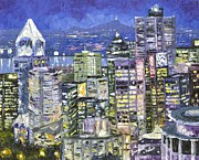 Dumba Peter - Cityscape blue night