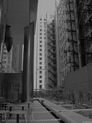 Cityscape I Print by Anna Villarreal Garbis