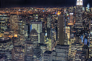Aerial Posters - Cityscape Poster by Jason Pierce Photography (jasonpiercephotography.com)