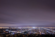 Los Angeles Photos - Cityscape, Los Angeles by Eric Lo