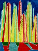 David Raderstorf - Cityscape number Five