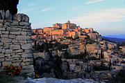 Townscape Posters - Cityscape Of Gordes Poster by Boccalupo Photography