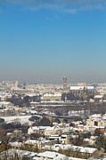 Cold Temperature Art - Cityscape Of Limoges by I hope you