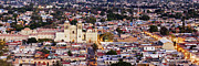 Apartment Framed Prints - Cityscape of Oaxaca Framed Print by Jeremy Woodhouse