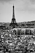 Cityscape Of Paris Print by Sbk_20d Pictures