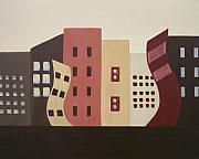 Sandy Bostelman - Cityscape on the Horizon...