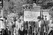 Congress Street Prints - Civil Rights March, 1963 Print by Granger
