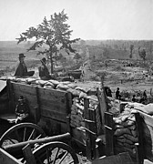 Chevaux Prints - Civil War: Atlanta, 1864 Print by Granger