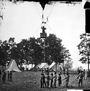 1862 Photos - Civil War: Balloon, 1862 by Granger