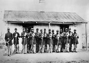 Infantry Photos - Civil War: Black Troops by Granger