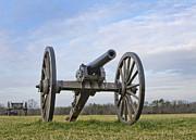 Civil War Cannon At Manassas National Battlefield Park - Virginia Print by Brendan Reals