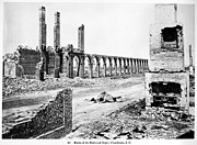 Rubble Photos - Civil War: Charleston Ruins by Granger