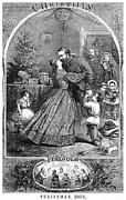 1863 Posters - Civil War: Christmas Poster by Granger