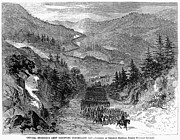 Ambrose Burnside Prints - Civil War: Cumberland Gap Print by Granger