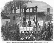 Guerilla Prints - Civil War: Execution, 1865 Print by Granger