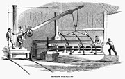 Ironclad Prints - Civil War: Iron Works, 1862 Print by Granger