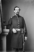 Major Framed Prints - CIVIL WAR MAJOR, c1865 Framed Print by Granger