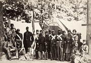 Bayonet Prints - Civil War: Militia, 1861 Print by Granger