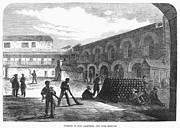Punishment Prints - Civil War: New York Fort Print by Granger