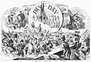 Citizen Prints - Civil War: Pay Day, 1863 Print by Granger