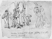 War Drawing Prints - Civil War: Punishment Print by Granger