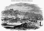 Ironclad Prints - Civil War: Red River, 1863 Print by Granger