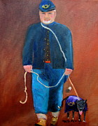 Civil Paintings - Civil War Reenactor by Marita McVeigh