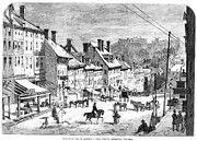 American City Prints - Civil War: Richmond, 1862 Print by Granger