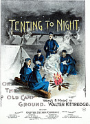 1860s Posters - CIVIL WAR SONG SHEET 1860s Poster by Granger