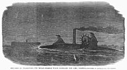 Ironclad Prints - Civil War: Torpedo Boat Print by Granger