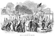 Citizen Framed Prints - Civil War: Union Camp, 1861 Framed Print by Granger
