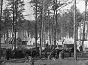 Army Of The Potomac Photos - Civil War: Union Camp, 1864 by Granger