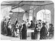 Pensioner Prints - Civil War Widows, 1869 Print by Granger