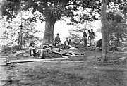 Mathew Photos - Civil War: Wounded by Granger
