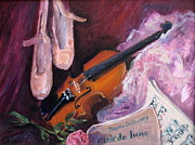Heart Of The Rose Prints - Clair de Lune Print by B Rossitto