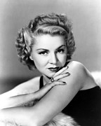 Bare Shoulder Framed Prints - Claire Trevor, Portrait, 1940 Framed Print by Everett