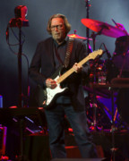 Eric Clapton Photos - Clapton Guitar Solo by Steven Sachs