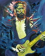 Eric Clapton Painting Framed Prints - Clapton Framed Print by Wayne LE ONE