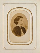 Clara Barton 1821-1912, At The End Print by Everett