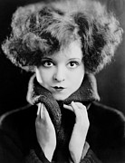 1920s Hairstyles Prints - Clara Bow, Ca. 1924 Print by Everett