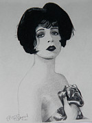 Movie Star Drawings Originals - Clara Bow by Eric Barich