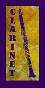 Clarinet Print by Jenny Armitage