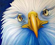 Eagle Prints - Clarity Print by Brian  Commerford