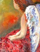 Angels Painting Originals - Clarity Of Thought by J Bauer
