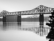 Indiana Photography Prints - Clark Memorial Bridge I Print by Steven Ainsworth